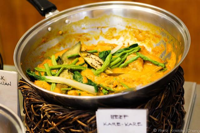 Beef Kare-Kare of Waway's Restaurant