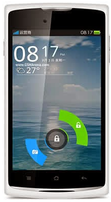 Oppo R817 Android