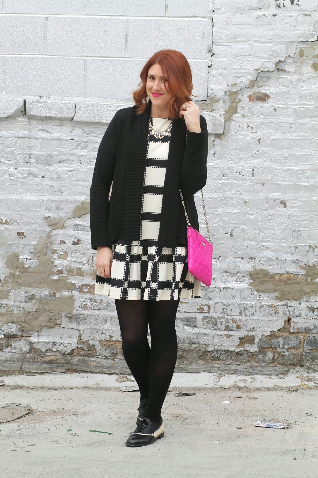 checkered, dress, asos, dropwaist