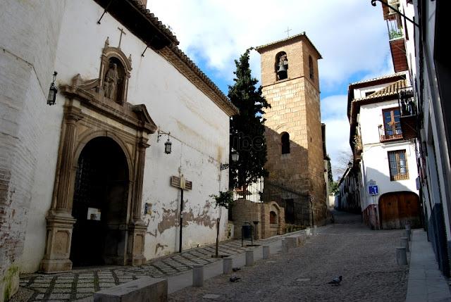Barrio de Albaicín en Granada