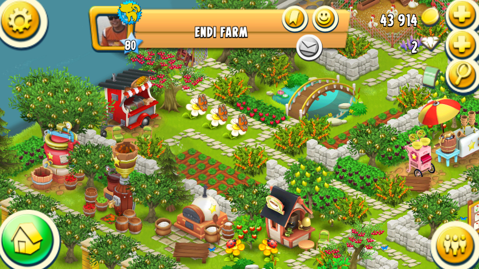 Hay Day Showcase A Lovely Farm I Saw Today