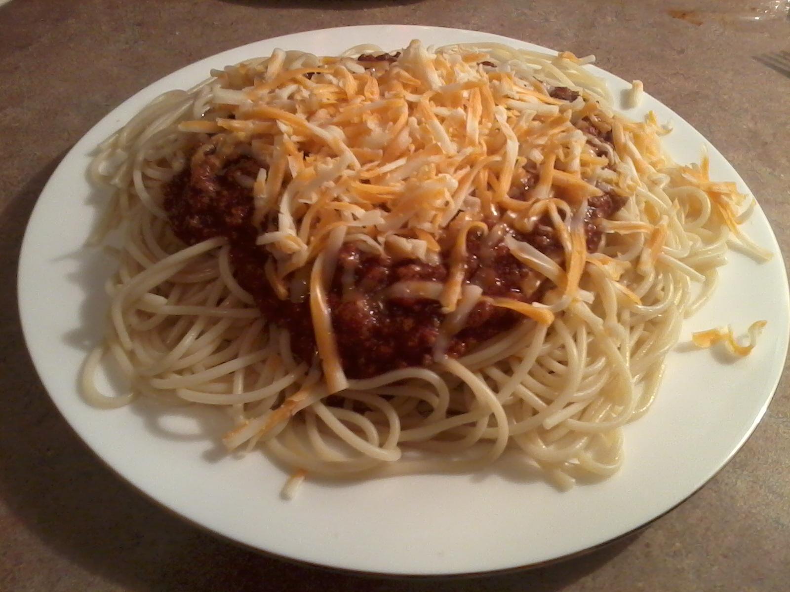 Spaghetti Taco