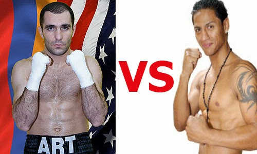 Art Hovhannisyan vs. Jonathan Maicelo