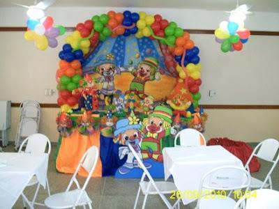 Decoração para Festa de Aniversário do Patati Patata