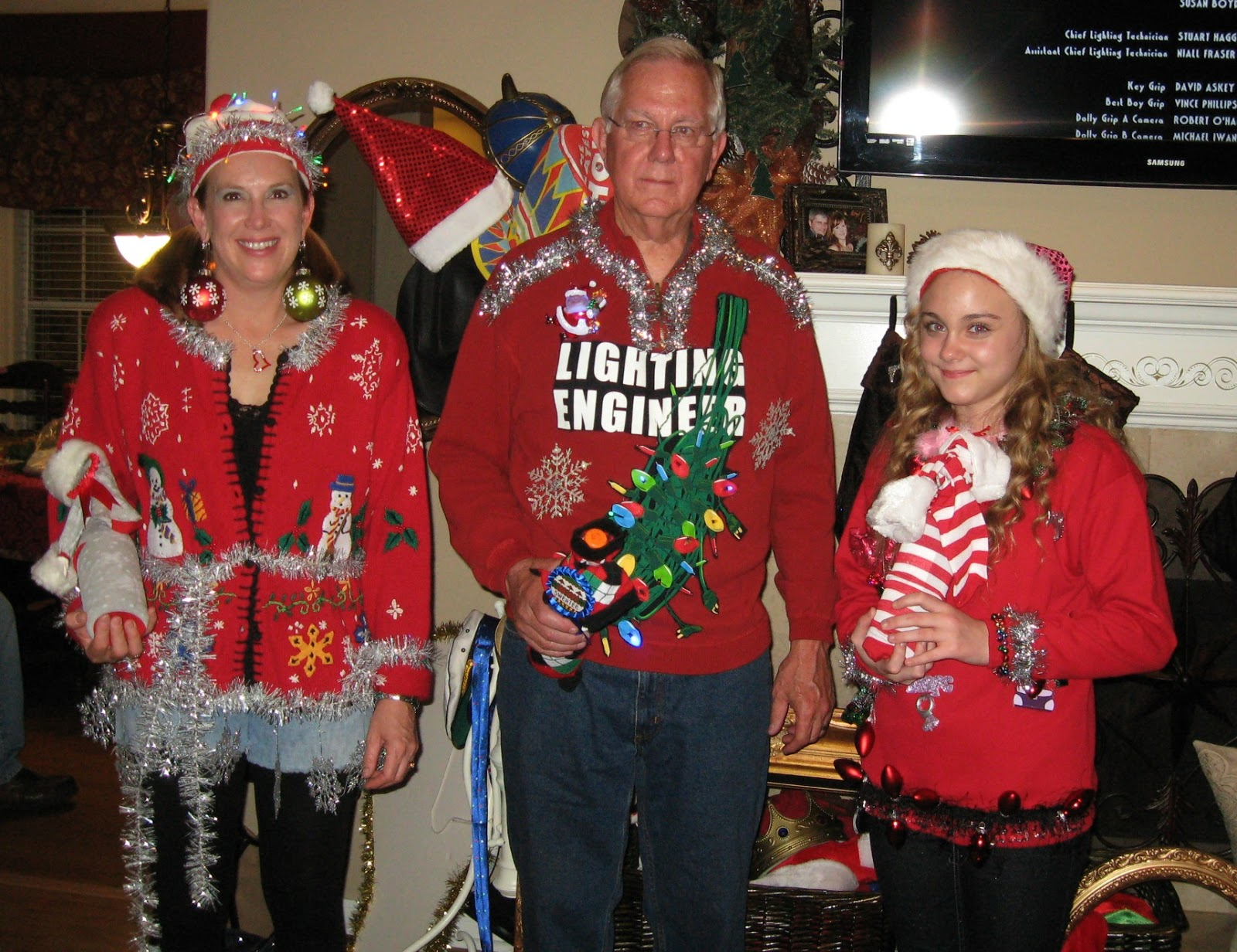 Tacky Christmas Party Ideas Part - 20: Tacky Sweater Christmas Party