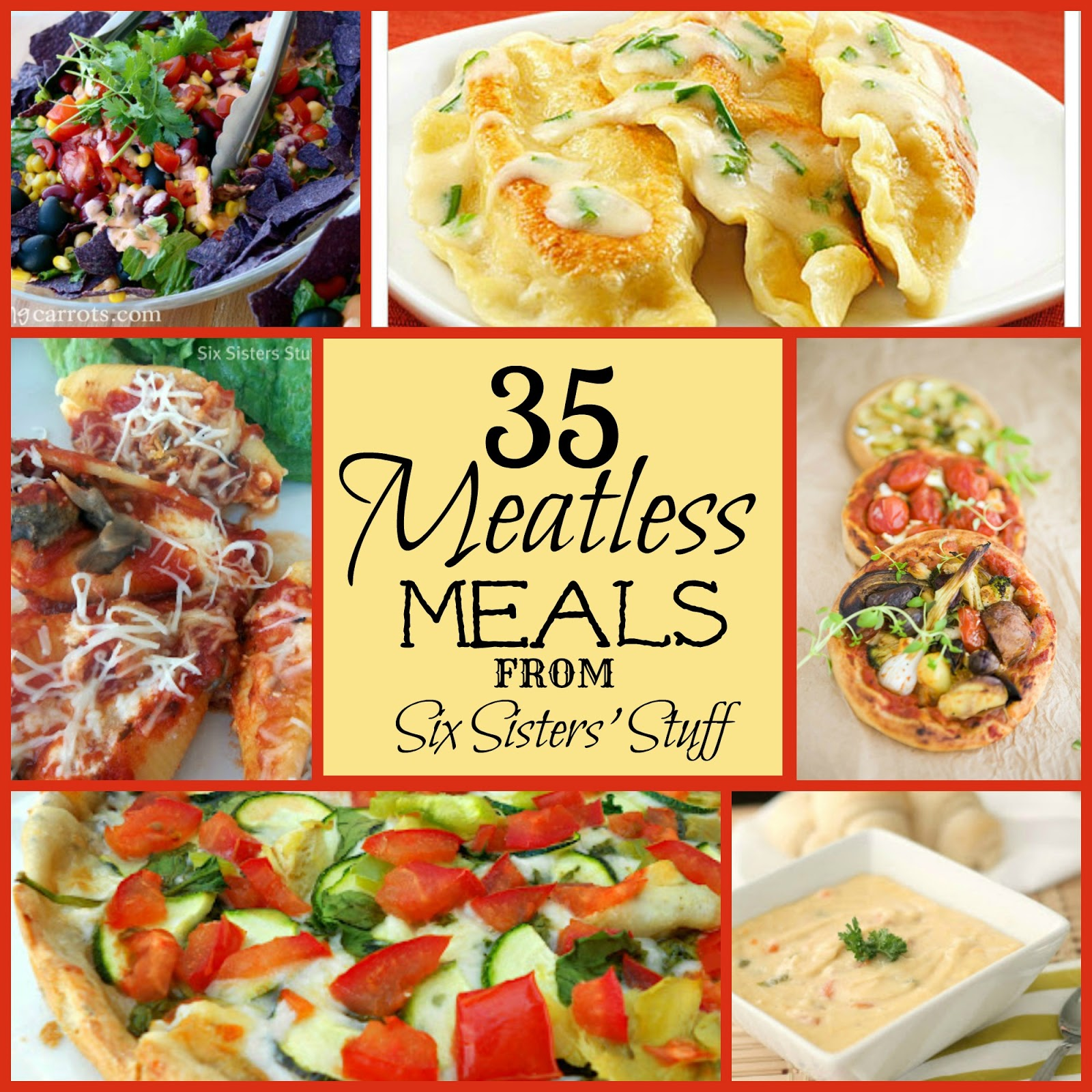 35 meatless meals/six sisters' stuff | six sisters' stuff