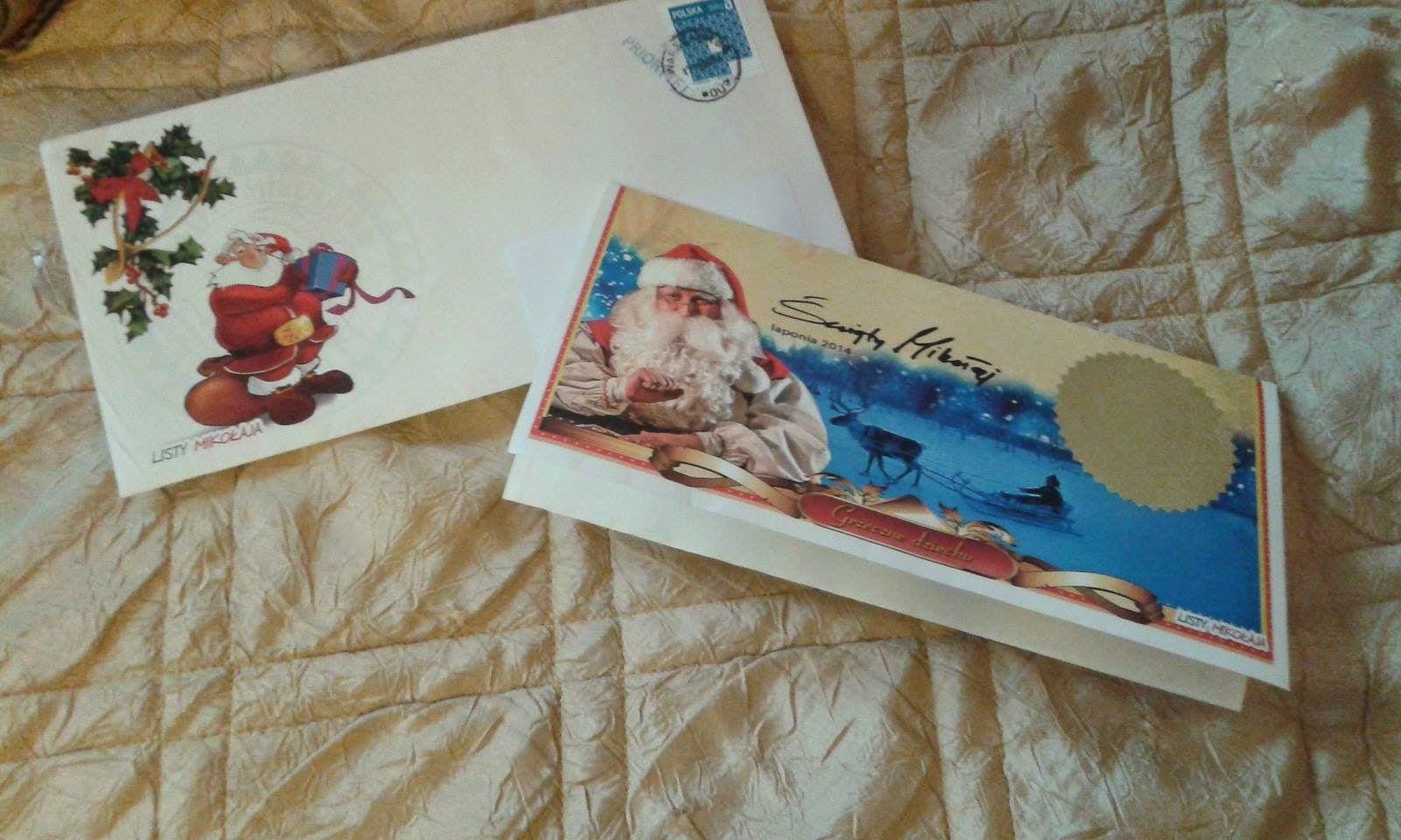 Mikołajowy odzew na dziecięcy list