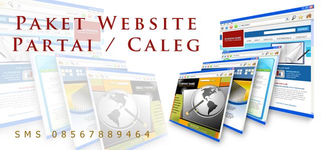 jasa website kampanye partai caleg