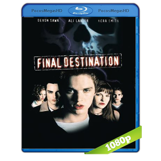 Destino final (2000) BRRip 1080p Audo Trial Latino/Castellano/Ingles 5.1