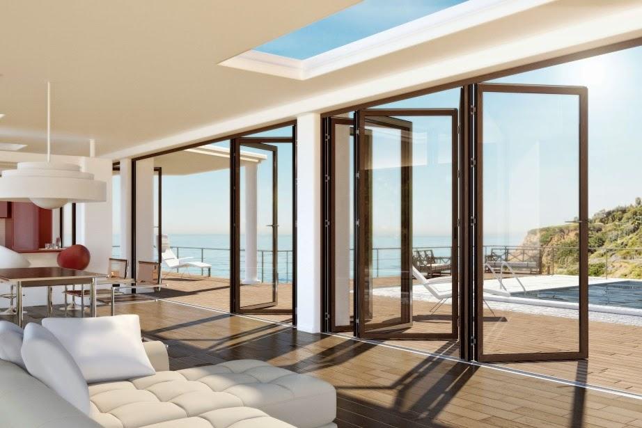 Fine Design Glass Verandas Folding Doors