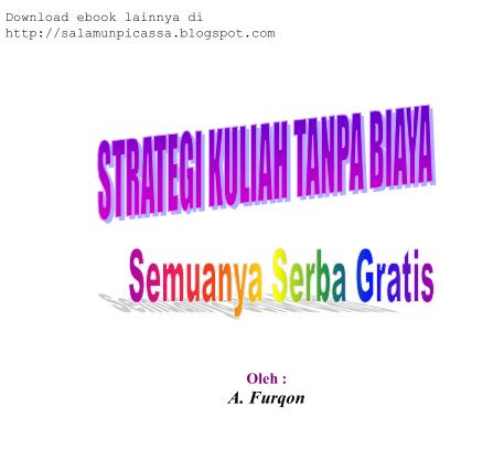Download Ebook Strategi Kuliah Tanpa Biaya