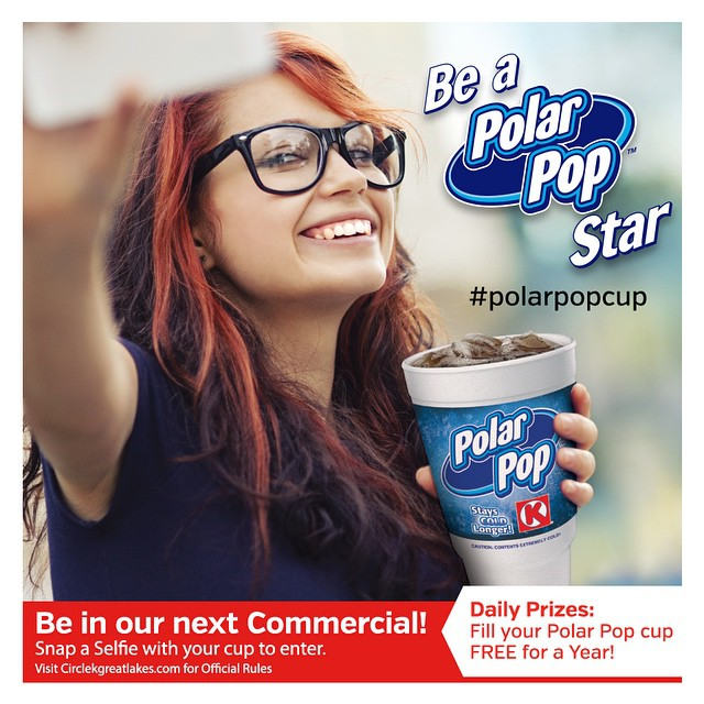 Want to be a #PolarPopCup Star + Enter to Win Free Gas from Circle K
