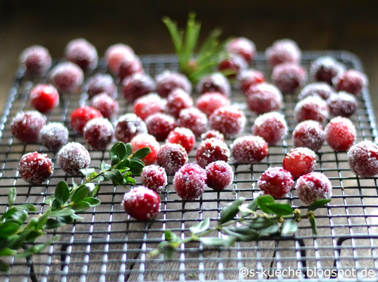 Gezuckerte Cranberries - Sparkling Cranberries