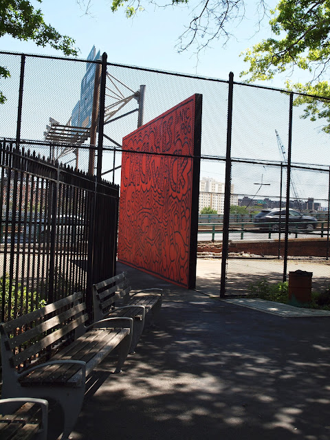 Crack is Wack Playground, Keith Haring, 1986, public art, new york city