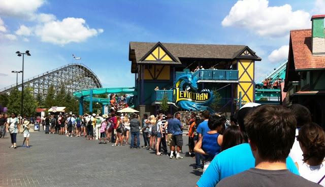Fila em Orlando Disney Junho Julho