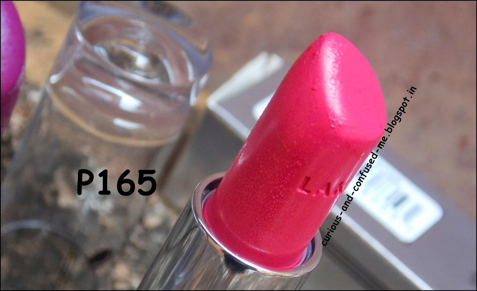 Lakme enrich lipsticks review, Lakme enrich lipsticks swatch, Lakme enrich lipstick P165 review, Lakme enrich lipstick P165 swatch, Lakme enrich lipstick P168 review, Lakme enrich lipstick review, Lipstick under 300 review, Best Lakme lipstick India, Affordable lipstick India, Lakme lipstick review, Best Purple lipstick review, Creamy lipsticks Indian review.