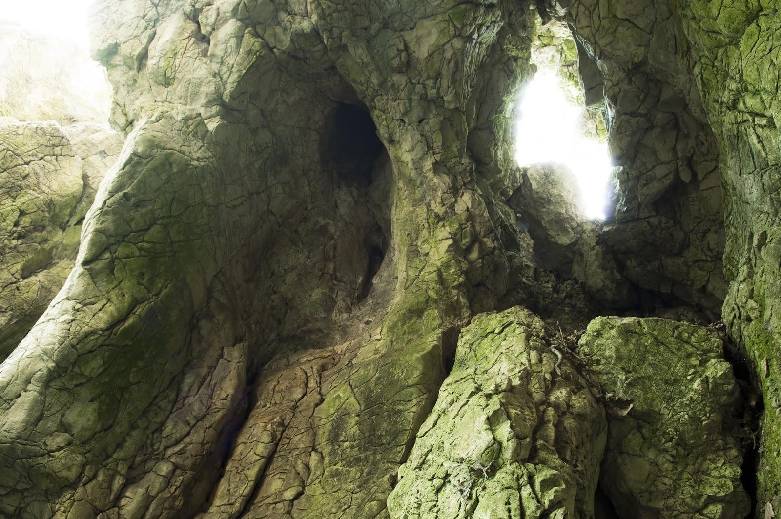 Remete-szurdok barlangjai