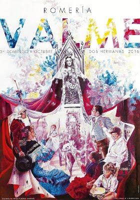 cartel anunciador romería de valme 2016