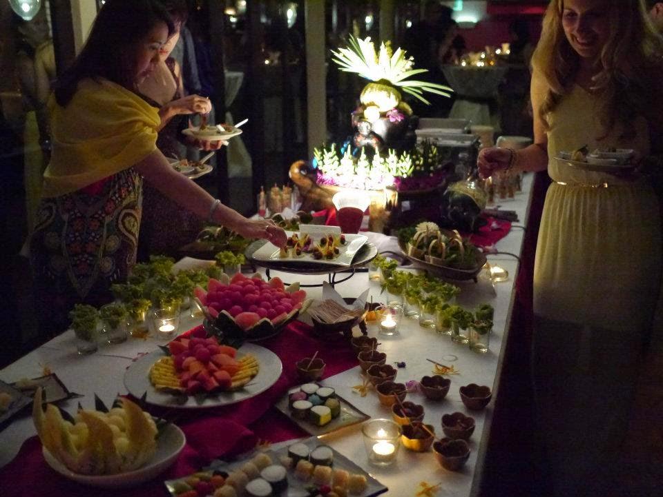 nice thai wedding food
