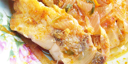 receta pescado en Escabeche