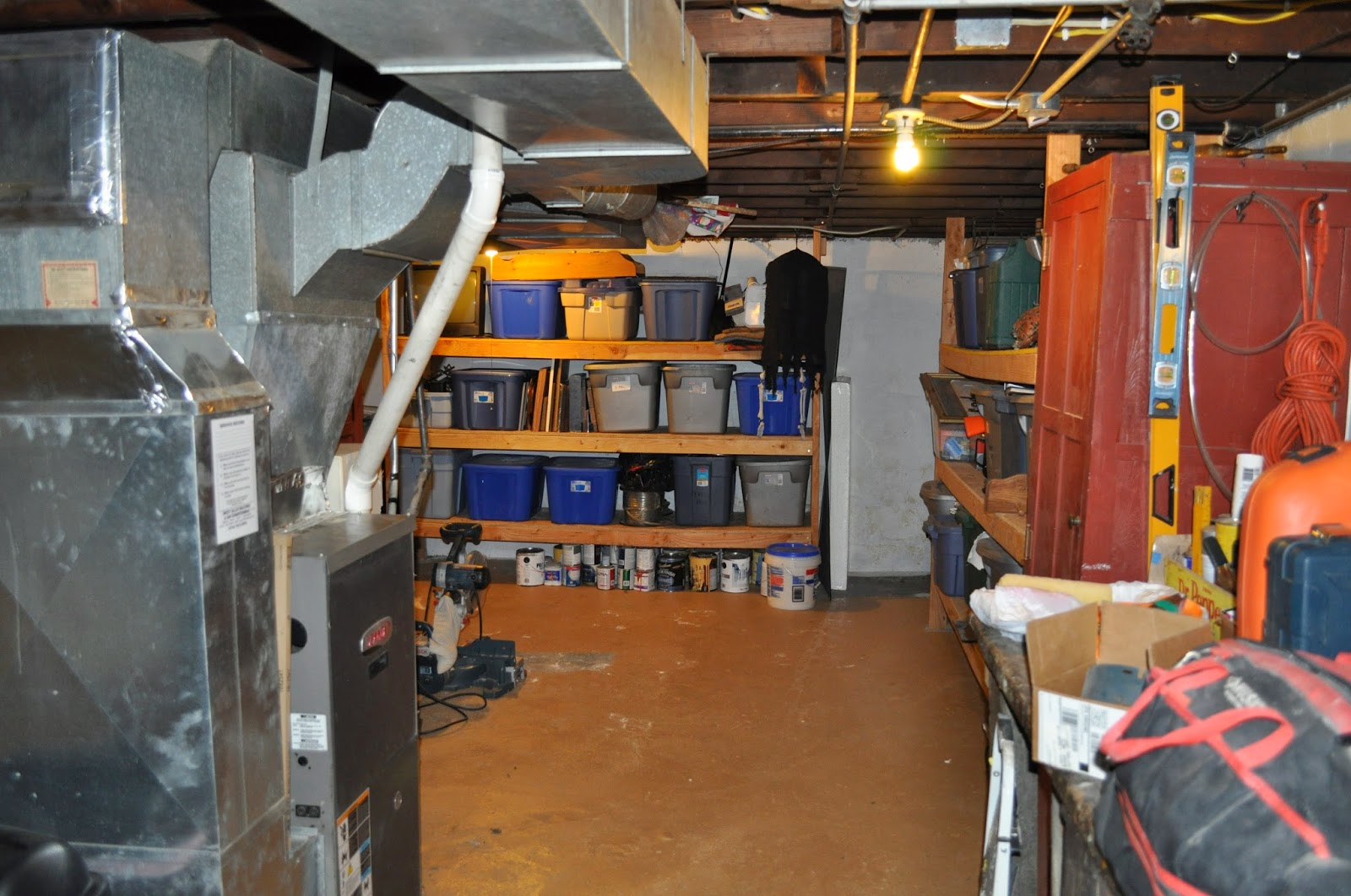 bathroom, disaster room, cleaning, organization, house showing, selling your house, DIY, basement organization