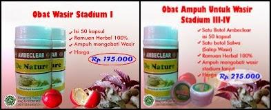 Obat Wasir Stadium 1 - 4