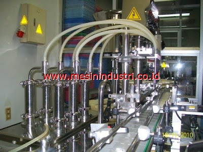 Jual mesin filling botol manual dan otomatis untuk industri minuman/beverages FILLER+AUTOMATION1