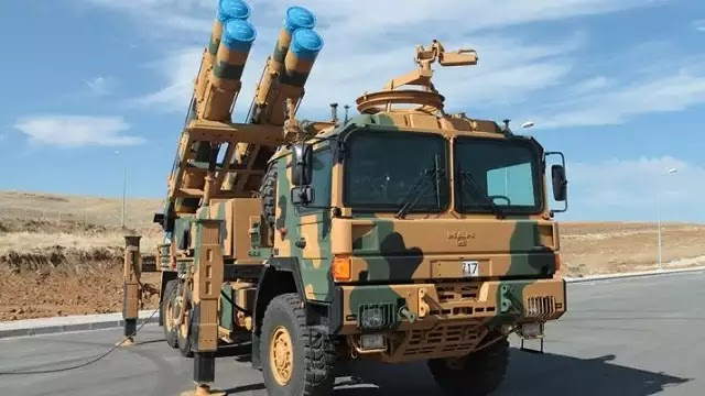 Τουρκική απειλή στο Αιγαίο από τις νέες κατευθυνόμενες μεγάλης εμβέλειας ρουκέτες τύπου TR-302G των 302 χλστ.