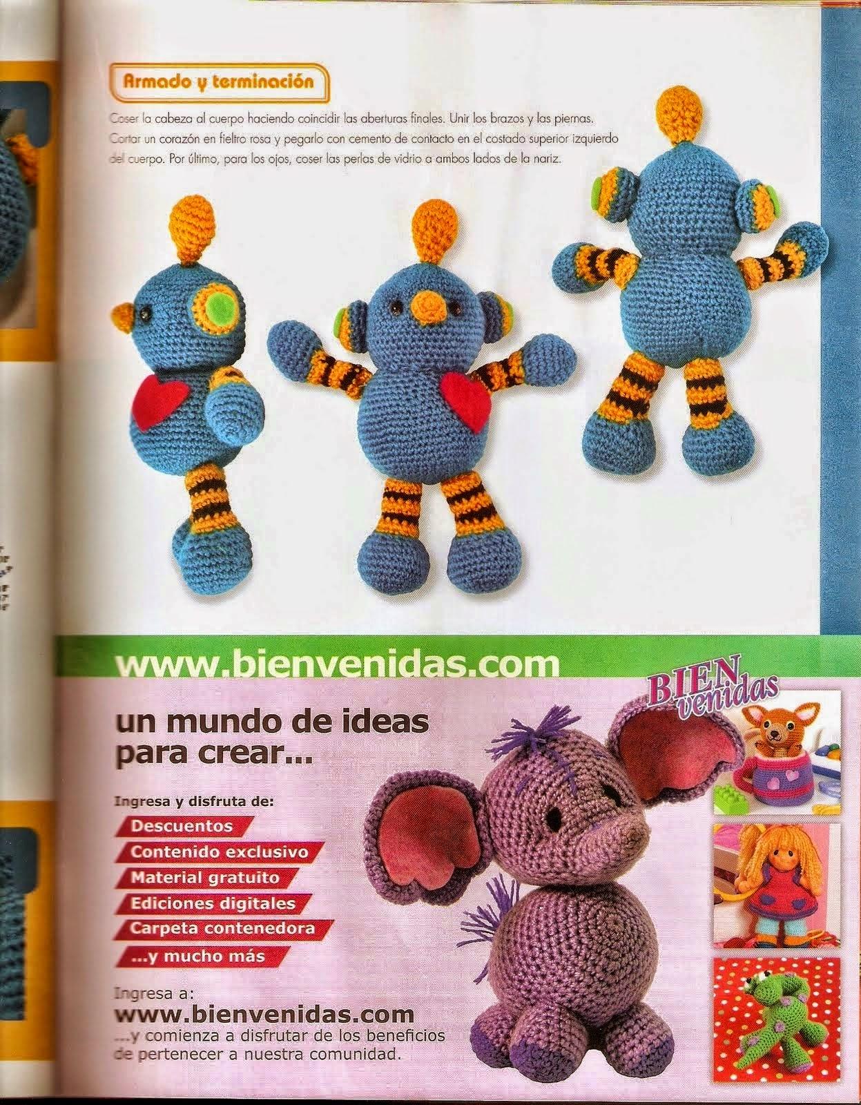 como hacer un amigurumi mickey mouse - Revistas de crochet ...