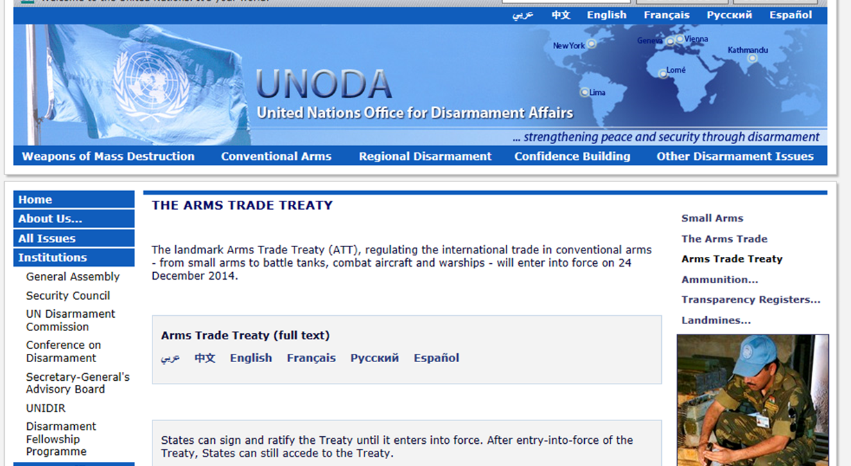 http://www.un.org/disarmament/ATT/