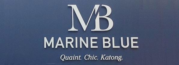 MARINE BLUE Banner