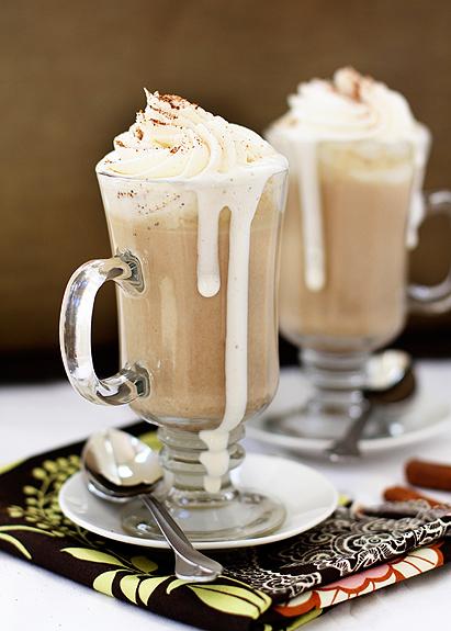 worthyoftheprize.com: Pumpkin Spice White Hot Chocolate