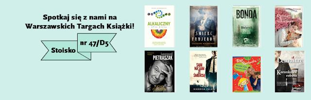 Wydawnictwo MUZA i AKURAT na 6. Warszawskich Targach Książki