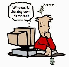 tips windows soluasi cara mematikan komputer yang susah mati shutdown lebih cepat