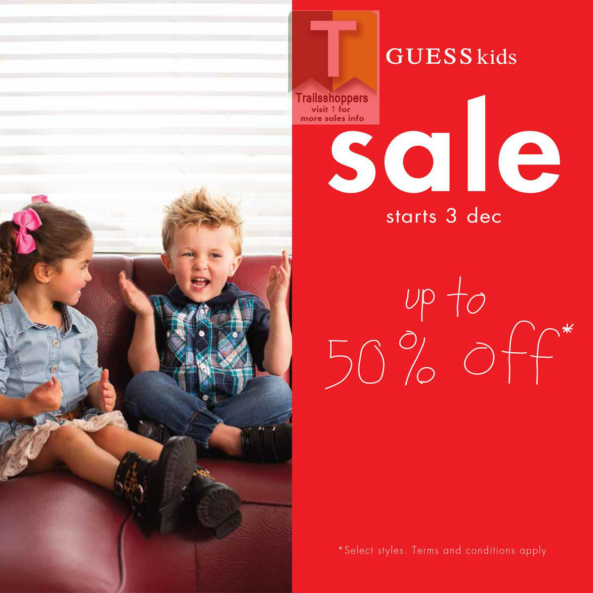 Guess Kids year end sale 2015