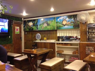 My Neighbour Totoro Themed Restaurant in E-dae