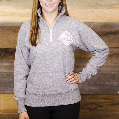 http://muskokabearwear.com/collections/ladies/products/ladies-quarter-zip-sweatshirt?variant=871555857