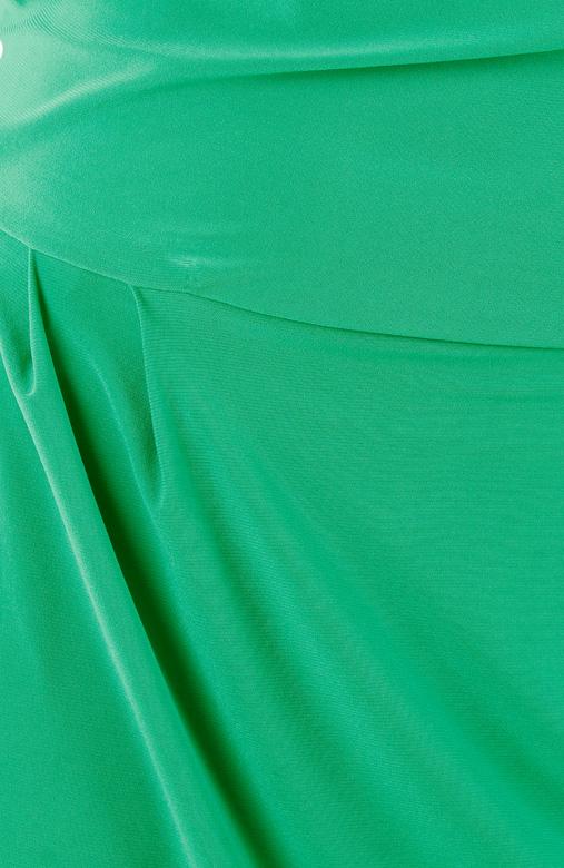 Devotion One-Shoulder Maxi Dress in Paris Green