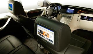 TV w samochodzie :D
