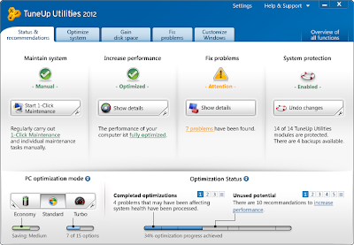 TuneUp Utilities 2012 Full Version