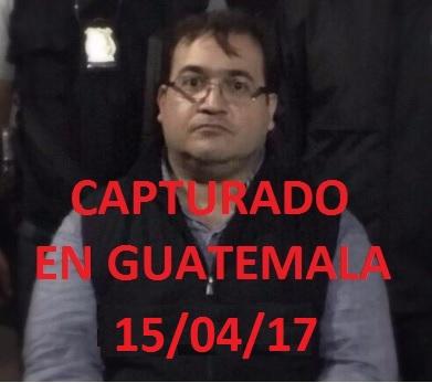 JAVIER DUARTE DE OCHOA, CAPTURADO:
