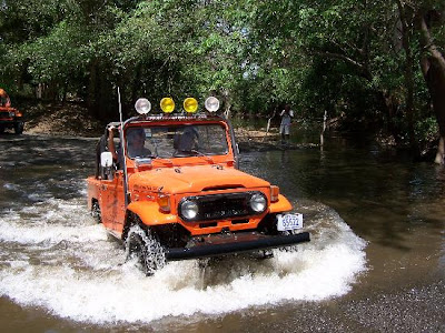 Water Crossing Jeep