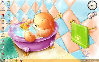 Download Gratis Theme Windows 7 - bears