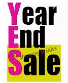 YEAR END SALES!!!