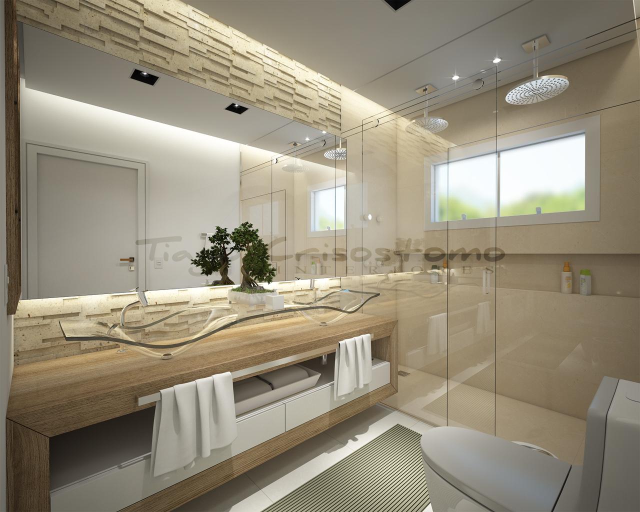 Tiago Crisostomo: Banheiro Casal #5C4E3A 1280 1024