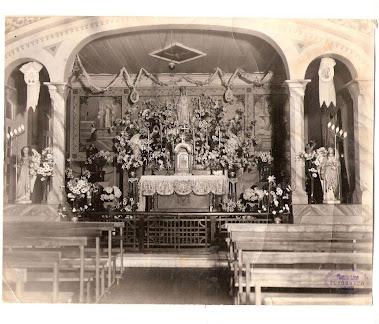 ALTAR DA ANTIGA CAPELA DE ORPHAS DO BARONESA MARIA ROSA