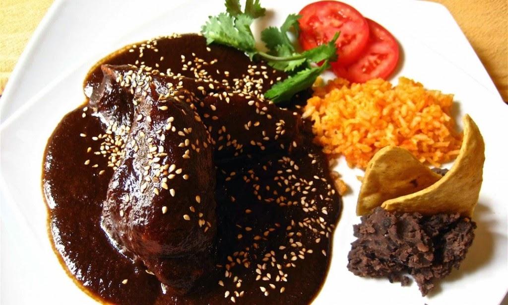 Mole de Pollo Mexicano Mole Negro Con Pollo o
