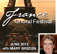 KIconcerts: France Choral Festival June 2013 with Mary Breden
