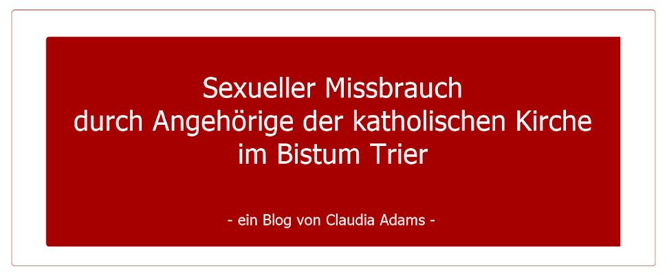 Sexueller Missbrauch durch Angehörige der katholischen Kirche im Bistum Trier