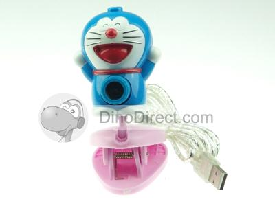 Wallpaper Cartoon Doraemon USB CMOS Webcam Web Camera